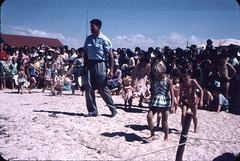 Circa 1959.  Port Parham, South Australia. New Years Day Carnival.