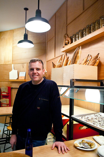 Gadi Peleg, co-owner of Breads Bakery