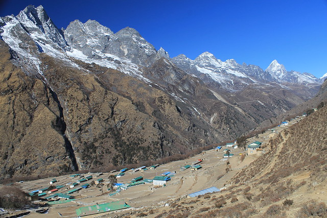 Phortse in the lower Gokyo Valley