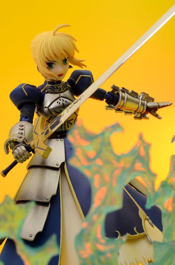 Chogokin - Fate/Zero: Saber