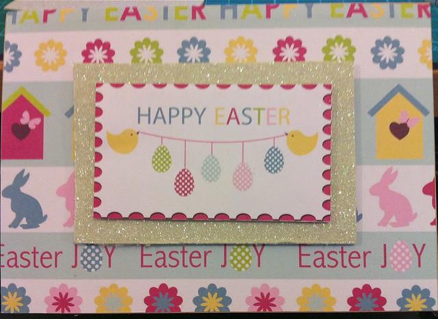 Spring crafts - Easter Card