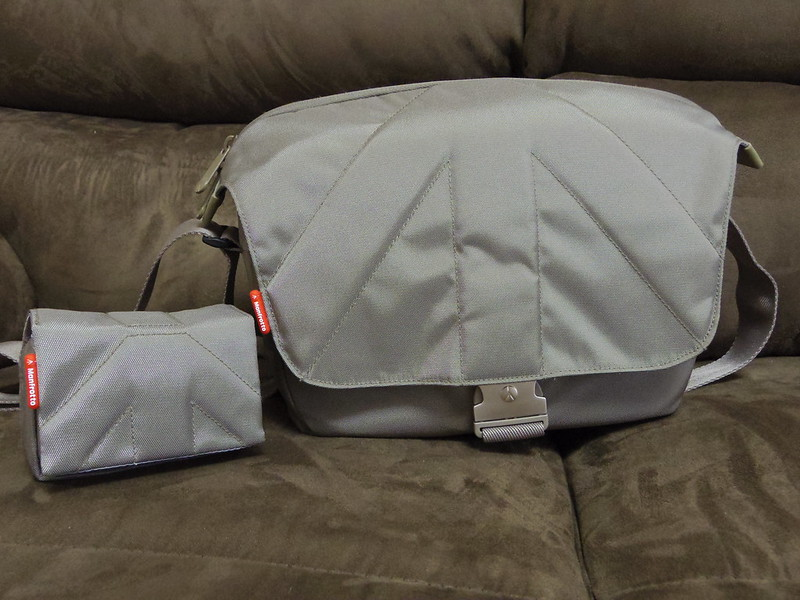 Review: Manfrotto Unica I camera bag and Nano III pouch for my Q-10 ...