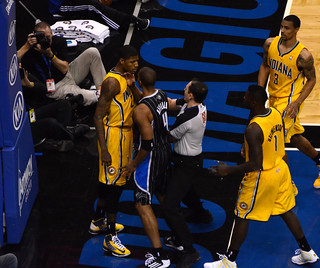 Paul George And Arron Afflalo