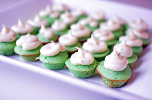 Mini Lime Cupcakes 1