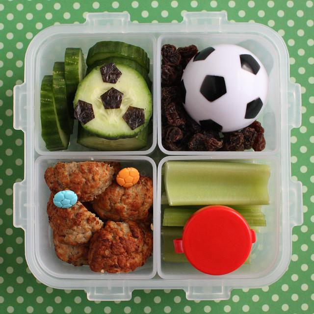 Preschool Soccer Bento #416