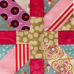 One more japanese x   quilt block