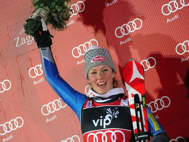 Mikaela Shiffrin wins overall WC slalom