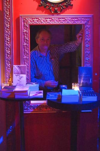 David at the Mercury bookstore