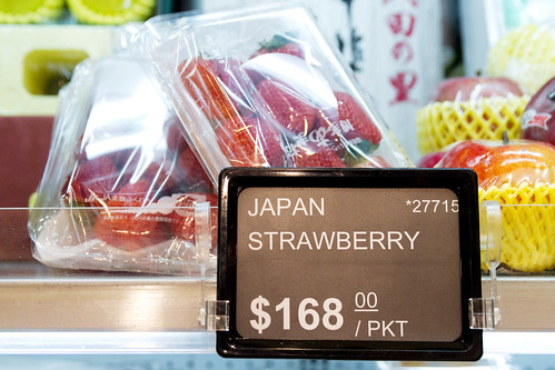 Pricey strawberries