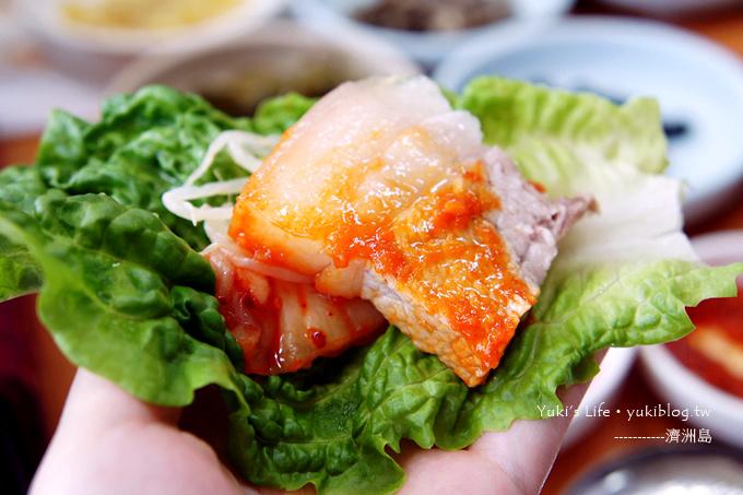 韓國濟洲島旅行【 韓定食+鐵板馬肉 & 黑毛豬烤肉大餐】Day1吃什麼?
