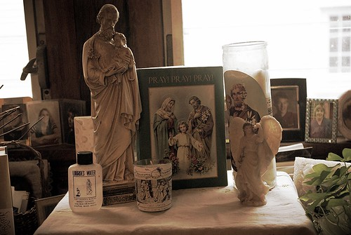 Our St. Joseph's Altar for 2013