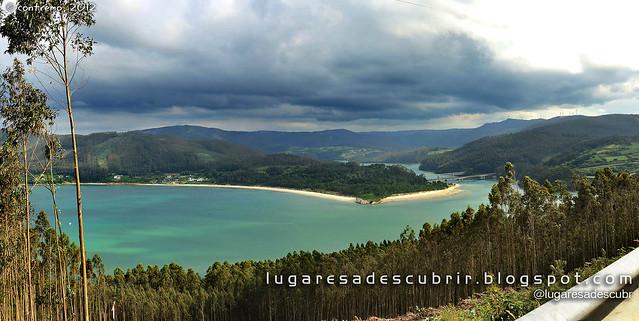 A Ría do Barqueiro (Mañón - O Vicedo, Galicia)