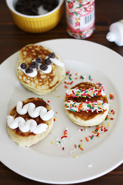 Easter Brunch with Bisquick -- Easter Egg Pancakes