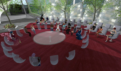 21st March Virtual Worlds Educators Roundtable