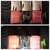 Spring 2013 nail polishes & gel coat by #Dior #Beauty #nails #princess