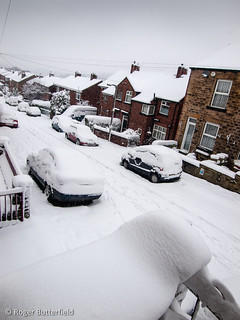 Snow in Sheffield
