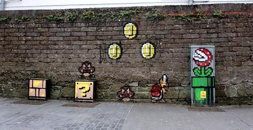 Super Mario Bro. 3 wall