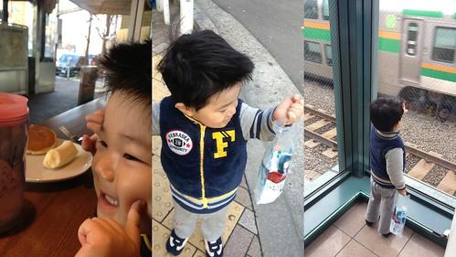 朝の散歩 2013/3/26