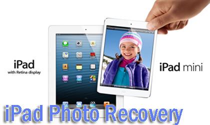 iPad photo recovery