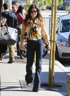 Jenna Dewan-Tatum Flared Jeans Celebrity Style Women's Fashion