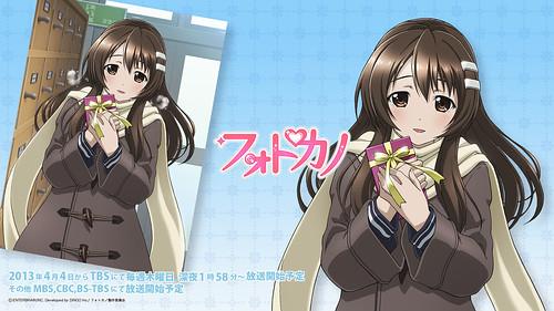 130329(2) – 美少女戀愛遊戲改編動畫《フォトカノ》(戀曲寫真)鎖定4/4正式開播,最新預告片正式公開!