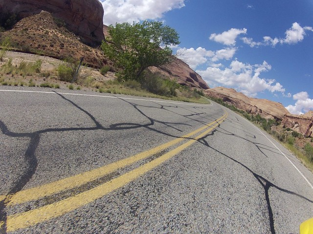 Riding to Capital Reef