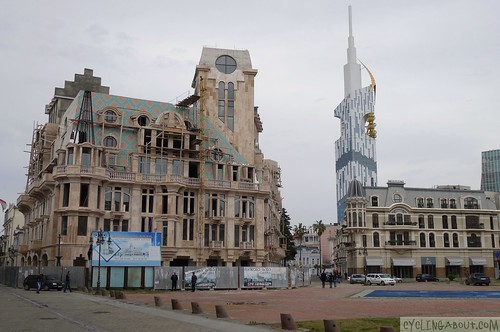 New architecture in Batumi