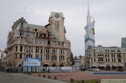 New architecture in Batumi