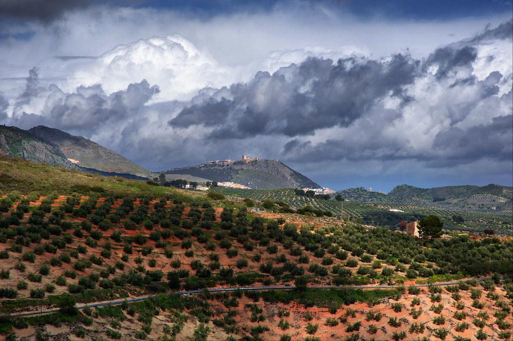 El Castillo de Santa Catalina desde Otiñar