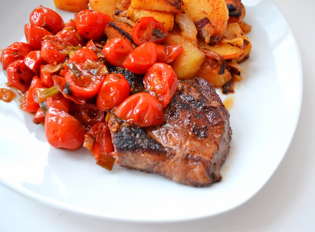 Steak, Tomatoes, & Potatoes