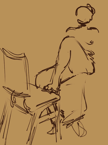 Life Drawing with iPad