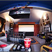 Fish-eye Home Theatre by SFB579 Namaste