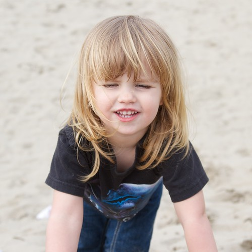 Baby and Sand 3