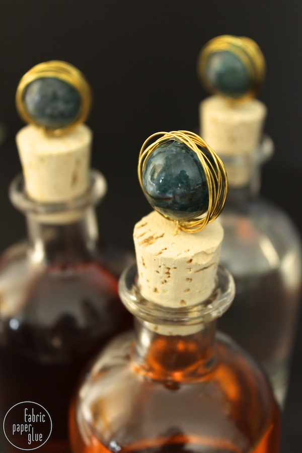 Marble-Topped Spirit Bottles 8