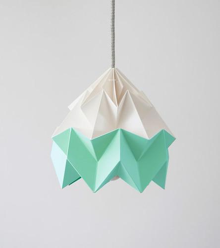Moth-Origami-Lampshade
