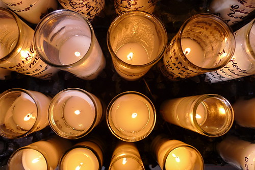 votive candles, st. john the divine