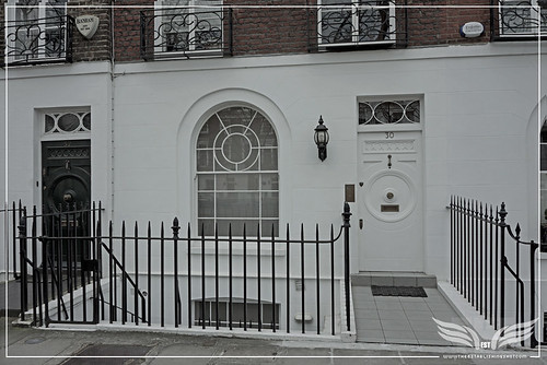 The Establishing Shot: THE SERVANT FILM LOCATION - JAMES FOX TONY'S LONDON HOME by Craig Grobler