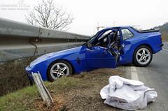 Tödlicher Unfall B275 Idstein 05.04.13