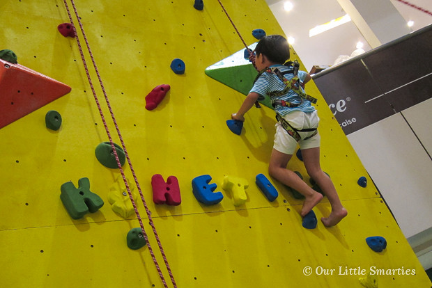 Edison - Wall Climbing