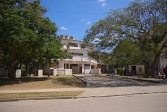Centro Pre Escolar Mi Trencito, en el reparto Virginia, modelo constructivo de edificios rusos Gran Panel, el primero de su tipo en Santa Clara. Levantado en los 70.  Cuba 2013