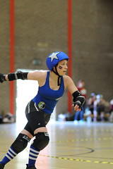 Kozmic Bruise jamming for Paris Rollergirls