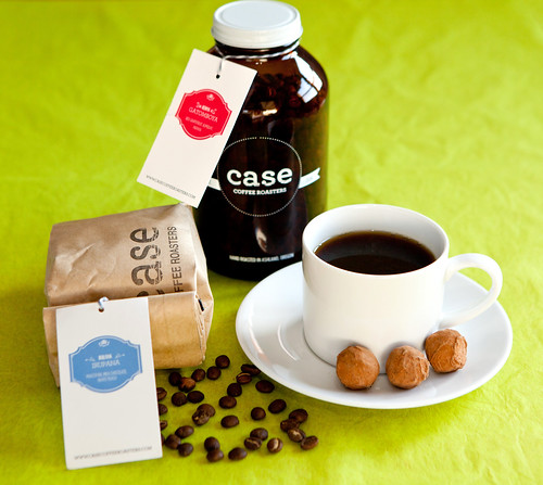 Case Coffee Roasters: Kenya Gatomboya and Ethiopia Agaro Jimma beans