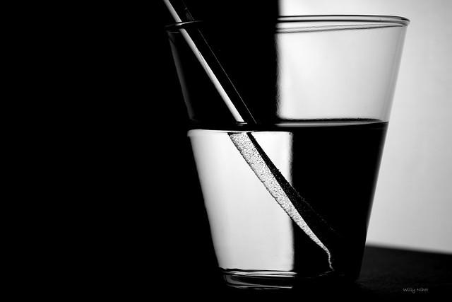 FV Flickr Top 5: Glas zwart wit