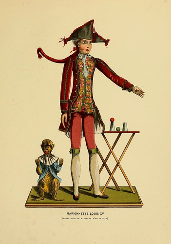 007-Marioneta Luis XV-Histoire des jouets….1902- Henry René d' Allemagne