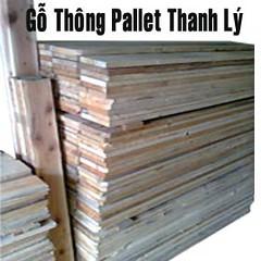 gỗ thanh pallet đã được tháo rời đang bán với giá 4 triệu đồng/ 1 khối