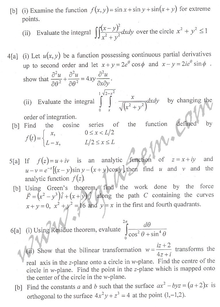 DTU Question Papers 2010 – 2 Semester - End Sem - IT-113