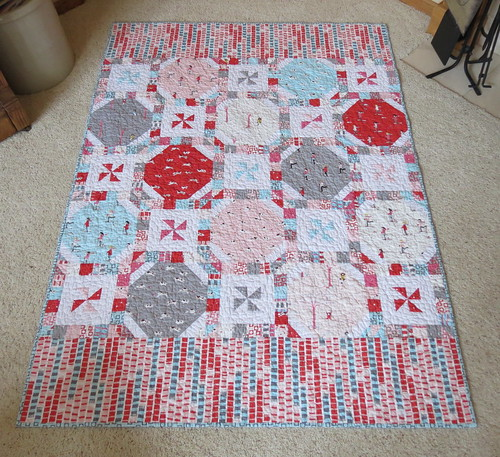 Sherbet Pips and Peppermint Snowballs quilt