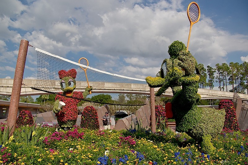 Epcot International Flower & Garden Festival 2013