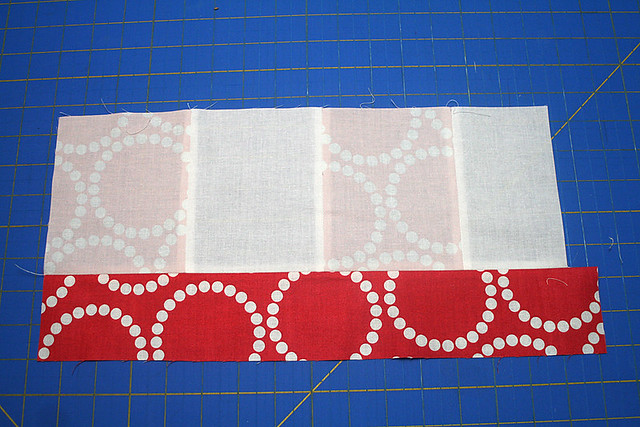 "Bloom Bloom Pow - 18"" piecing"