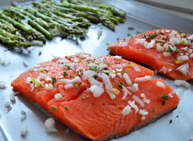 how to prepare fresh salmon in the oven